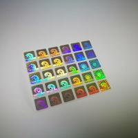 Wholesale Authentication Laser Sticker Transparent Hot Stamping Die Cut Shape from china suppliers