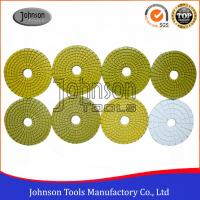 Wholesale 100mm Diamond Wet Polishing Pad / Polishing Discs For Granite Marble Products from china suppliers