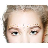 Wholesale Festival Rhinestone Body Jewelry Tattoo Stickers , Self Adhesive Face Jewels from china suppliers
