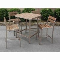 Wholesale Fashionable Polywood Bar Table, Suitable for Indoor and Outdoor Use from china suppliers