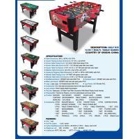Wholesale 14 In 1 Multi Game Table Football Table Billiards Kids Air Hockey Table Full Size from china suppliers