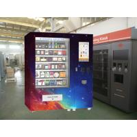 China Touch Screen Bread Yoghurt Vending Machine With Automatic Report Function on sale