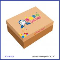 China wholesale custom cheap paper children shoe box on sale