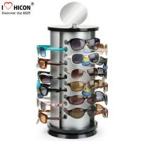 Wholesale Counter Top Sunglasses Display Rack Rotating 24 Pairs Rayban Sunglass Display Stand from china suppliers