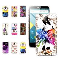 Wholesale Beautiful 5.0 inch printed Gel Tpu back Blu Phone Case with stand for Studio G from china suppliers