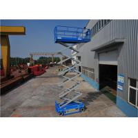 Wholesale AC Driven System Hydraulic Scissor Lift For Aerial Maintain Low Noise No Emission from china suppliers