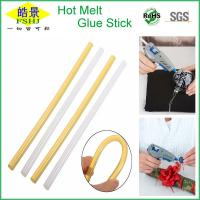 Wholesale Light Yellow High Strength Hot Melt Glue Sticks , Industrial Hot Glue Sticks from china suppliers
