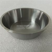Wholesale 1pc 99.96% purity Tungsten crucible,OD 52mm,Thick 2mm,hight 25mm from china suppliers
