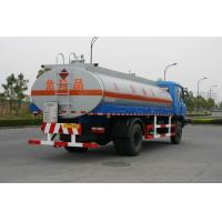 Wholesale Fuel Oil Tank Truck 12600L , Dongfeng Chassis Transport Fuel Tanker Truck 4x2 from china suppliers