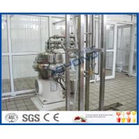 Quality Plastic Pouch / Bottle Package Liquid Dairy Processing Plant 200ml 500ml 1000ml for sale