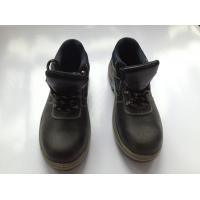 Wholesale Buffalo Leather Industrial Safety Shoes With PU Injection / Rubber Outsole from china suppliers