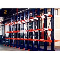 Wholesale Carbon Steel Q235 Powder Coating Cantilever Pallet Racking / Cantilever Storage from china suppliers