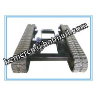 Wholesale factory directly offered 5 ton rubber track undercarriage for construction machinery from china suppliers