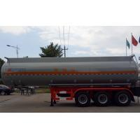 Wholesale 37m3 Tanker semi trailer for Corrossive goods sodium hydroxide sulfuric acid nitric acid from china suppliers
