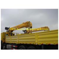 Wholesale Lorry Mounted Crane 6 wheels tadano 336 hp with XCMG crane ISO / CCC / BV from china suppliers