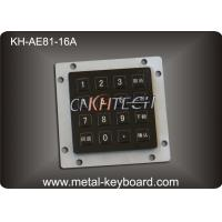 Wholesale Black Industrial Kiosk Keyboard with Anti-vandal and Long lifespan from china suppliers