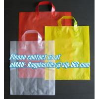 Wholesale Gift packaging, shopper, flexi loop handle, die cut handle, block bottom, string bag from china suppliers