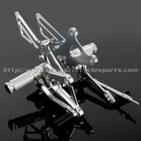 Wholesale CNC Milling Motorcycle Rear Sets , Honda Rear Sets For Honda Cafe Racer Parts from china suppliers