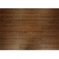 Wholesale Double / Unilin Cilck Rustic Wooden Handscraped Laminate Flooring Waterproof V Groove from china suppliers