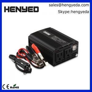 Buy cheap 300W Outdoor Power Inverter Car Cigarette Lighter Socket DC 12V to 110V AC Car Inverter With 2 USB Port & 1 AC Outlets from wholesalers