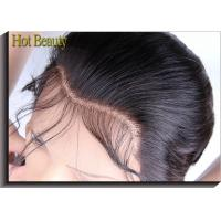 Wholesale Natural Black Top Closure Straight Hair Ear to Ear Lace Frontal Human Hair Material from china suppliers
