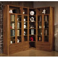 Wholesale Modern study room furniture /Corner bookcase bookshelf wooden from china suppliers