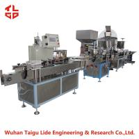 Wholesale Automatic Aerosol Filling Machine Production Line For Snow Spray / Party String from china suppliers