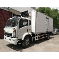 Wholesale DFAC Small Refrigerated Van Truck Fast Food Cooling Van Body ISO 9001 Approved from china suppliers