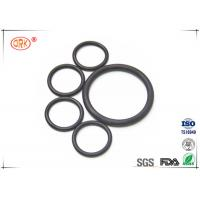 Wholesale Flat Rubber O Ring Black FPM FKM Viton Fluorelastomer With RoHs from china suppliers