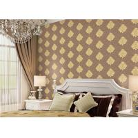 Wholesale Classical Damask Concise European Washable Vinyl Wallpaper With Embossed Surface from china suppliers