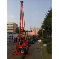 Quality Water  Exploration Portable Core Drilling Equipment With Diesel Engine for sale
