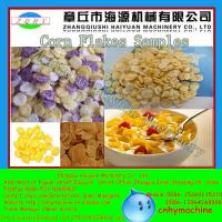 Wholesale Jinan 250-350kg/h Twin Screw Extruder Corn Flakes Machine from china suppliers