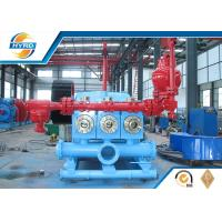 Wholesale Oil Well Drilling Equipment Casting Triplex Drilling Mud Pumps API Standard from china suppliers