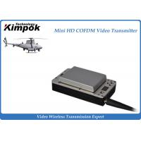 Wholesale Lightweight HD UAV Video Transmitter 20km Wireless COFDM UAV Link with Battery from china suppliers