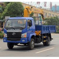 Wholesale best price forland 3.2tons 4*2 LHD/RHD truck with crane for sale. forland brand 3.2tons telescopic boom mounted truck from china suppliers