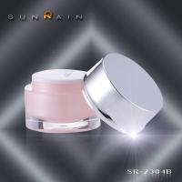 Wholesale Sunrain PMMA Plastic Cosmetic Jars 30ML 50ML SR-2384B for Personnal care from china suppliers