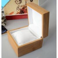 Wholesale Natural wooden watch box with pillow inside wooden watch box wholesale from china suppliers