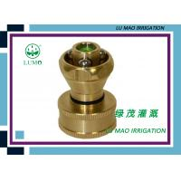 Wholesale 1 Inch Brass SteamWater Hose Spray Nozzle Misting Cooling Irrigation System from china suppliers