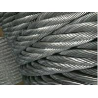 Quality Marine Grade PVC Stainless Steel Wire Ropes Electro Glav 317L , 321 With Tensile Strength for sale