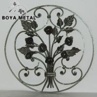 Wholesale Decorative Forged Iron Panel for Home Decor and Fence from china suppliers