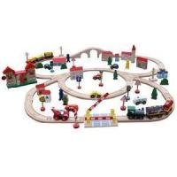 Wholesale Wooden Railway Set, Wooden Train Track from china suppliers