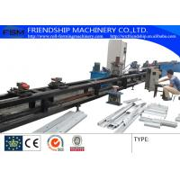 Wholesale GCr15 1.0-3.0mm Thickness C Z Purlin Roll Forming Machine Automatic Punching Holes With 17 Forming Stations from china suppliers