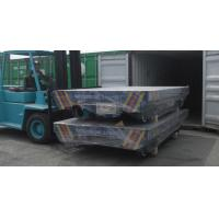 Wholesale Cargo Delivery Rail Motorized Transfer Trolley 6 ton Q235 or Q345 mild steel from china suppliers