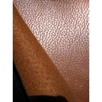 Wholesale Tabacco Synthetic Aux Cowhide Upholstery Fabric With Breathable Effect from china suppliers