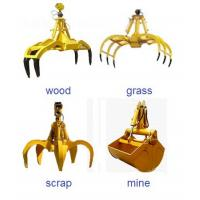 Wholesale OEM crab grab bucket crane construction machinery spare parts supplier from china suppliers