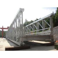Wholesale Prefabricated Modular Steel Bridge / Army Bailey Bridge High Strength from china suppliers