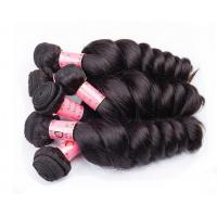 Buy cheap Black Women Use Double Virgin Remy Human Hair Weaving / Real Human Hair from wholesalers