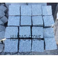 China Grey Granite tile G602 cube stone paving stone for indoor outdoor flooring on sale