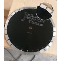 Wholesale 430mm Green Diamond Concrete High HP Floor Saw Blades In Heavy Cutting Operations with Key Slot from china suppliers
