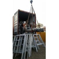 Quality Walk through Frame Scaffolding customized as requied with caster wheel for sale
